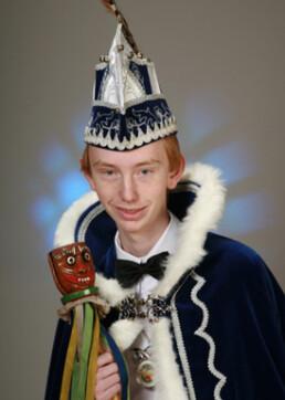 Jeugdprins Teun Spikmans 1