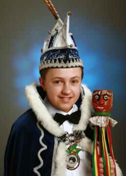 Jeugdprins Thom Rutten 1