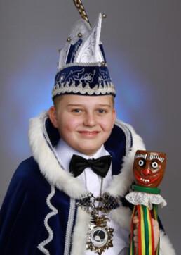 Jeugdprins Niels van den Hoogen 1